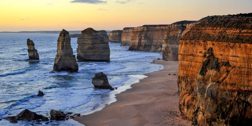 Australia's beautiful Great Ocean Road winds along a number of tourist sites: the famous Twelve Apos... - Dmitriy Komarov/Shutterstock