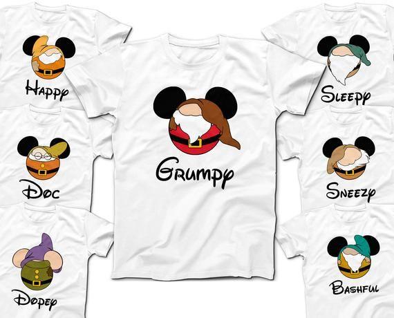 Medium T-shirt Ready for Disneyland save $$ Snow White and the 7 Dwarfs NEW!