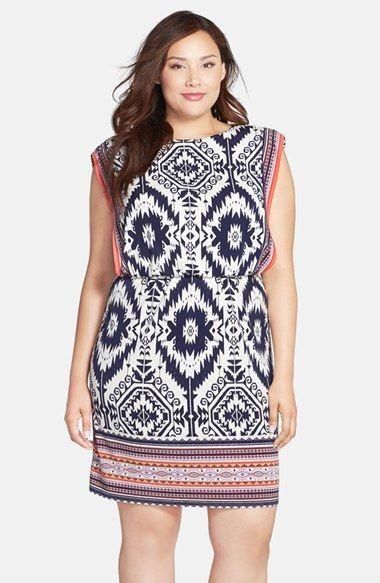 Plus Size Blouson Dress | Plus Size Fashion | Pinterest | Dresses ...