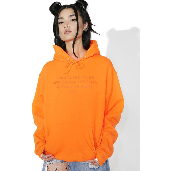 Civil Clothing Lit Pullover Hoodie ($70) ❤ liked on