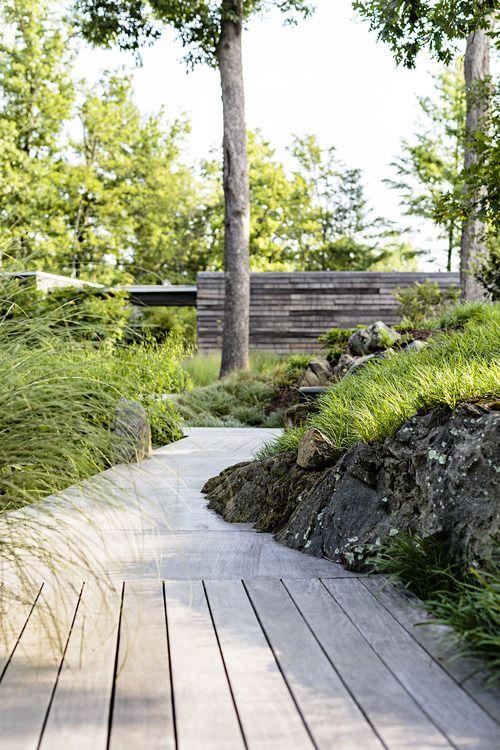 Grounded LA  Design concrete rock ipe deck Beautiful