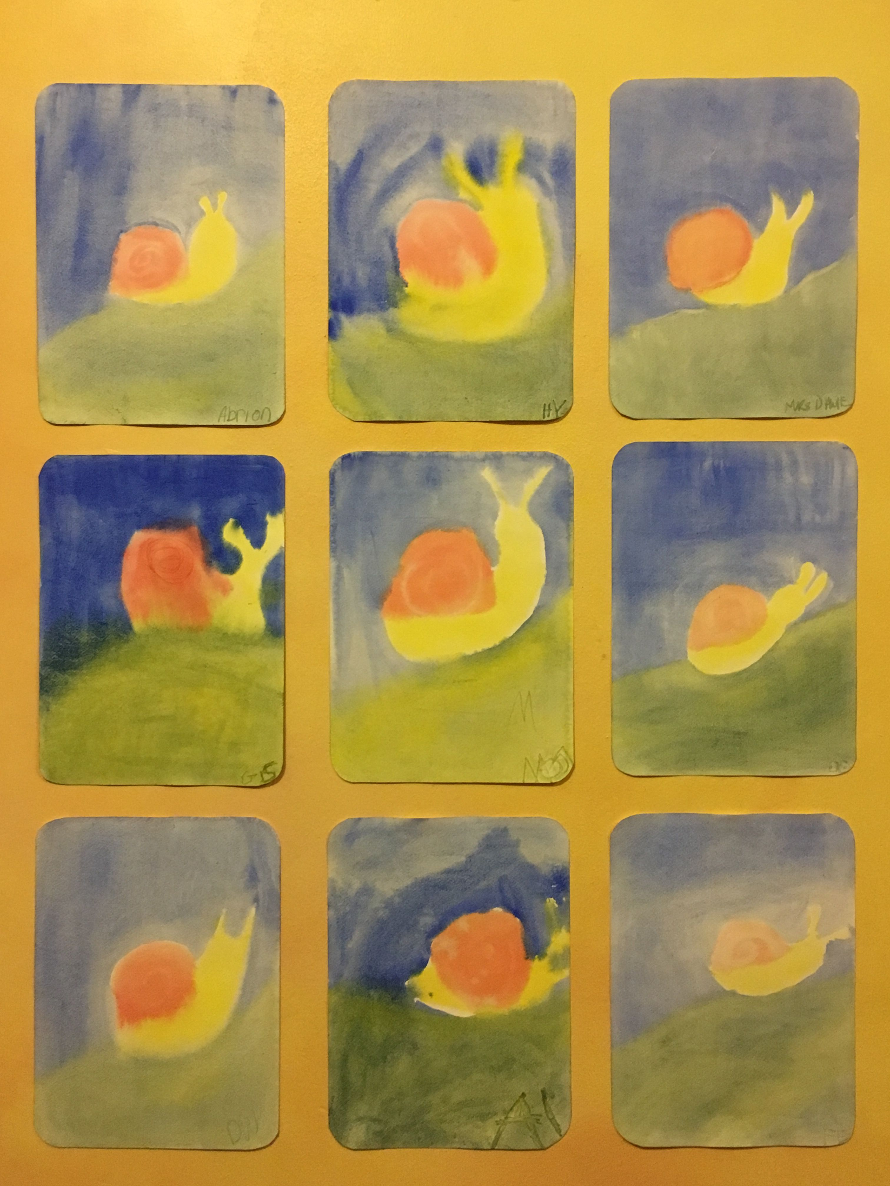 Waldorf Watercolor Painting 2nd 3rd Grade Paint The Slippery