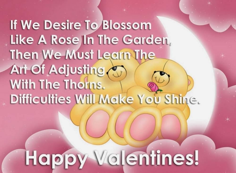 Cute Teddy Bear Valentines Day Quote Valentines Day Valentine S Day Valentines Day Qu Happy Valentine Day Quotes Valentines Day Messages Message For Girlfriend