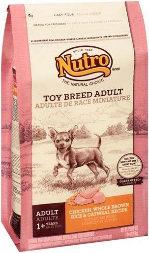 Nutro Chicken Whole Brown Rice Oatmeal Recipe Toy Breed Adult