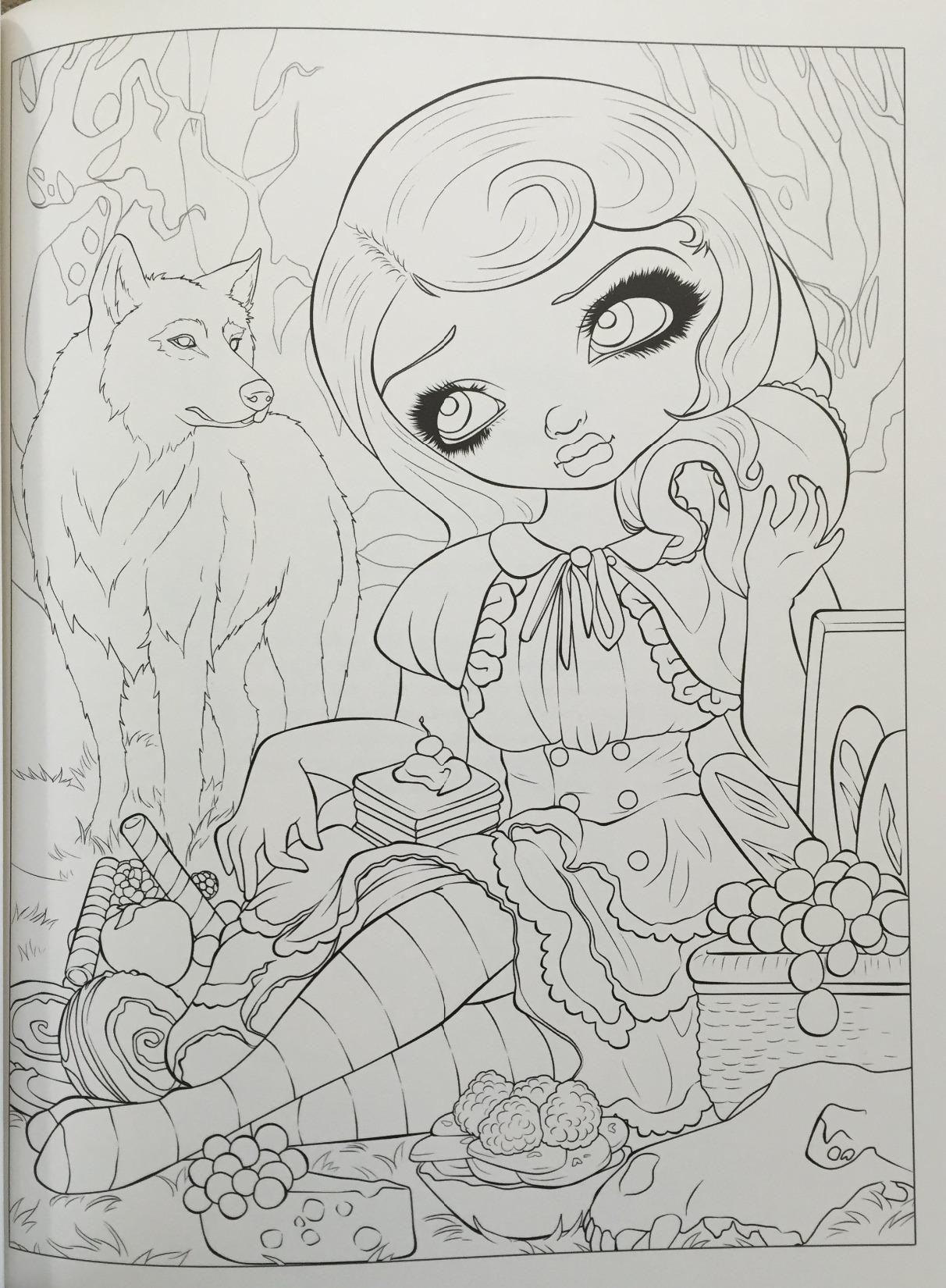 Amazon Com Jasmine Becket Griffith Coloring Book A Fantasy Art Adventure 9780738750019 Jasmine Becket G Coloring Books Coloring Pages Fairy Coloring Pages