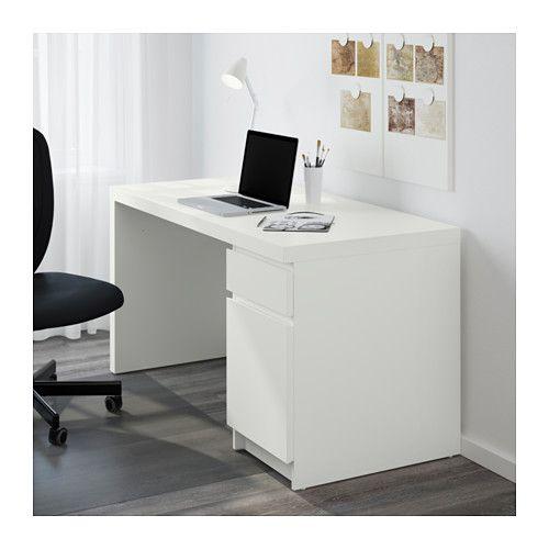 Malm Desk White 55 1 8x25 5 8 Ikea Malm Desk White Desks