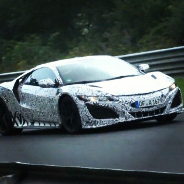 The #2016 #acuransx Has Been Spied Testing On The Ring