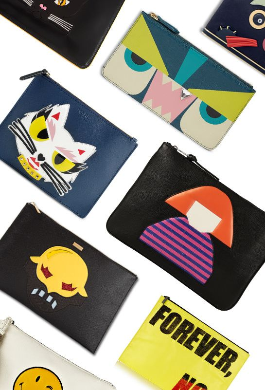 Cartoon Clutches #clutches   #handbags   #fashion   http://www.bliqx.net/cartoon-clutches/