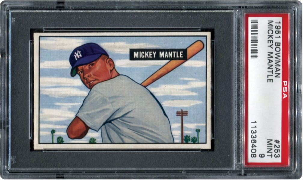Best Baseball Cards to Buy Mickey mantle, Baseball cards