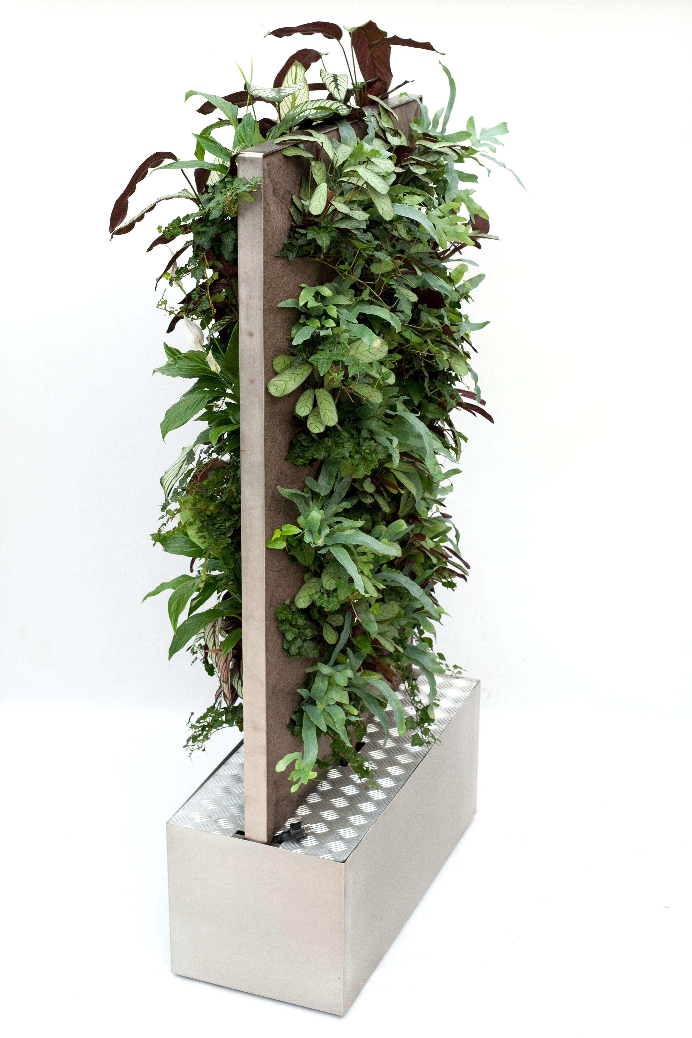 Simple vertiplant mobile verticaal tuinieren binnen for Verticale tuin systeem