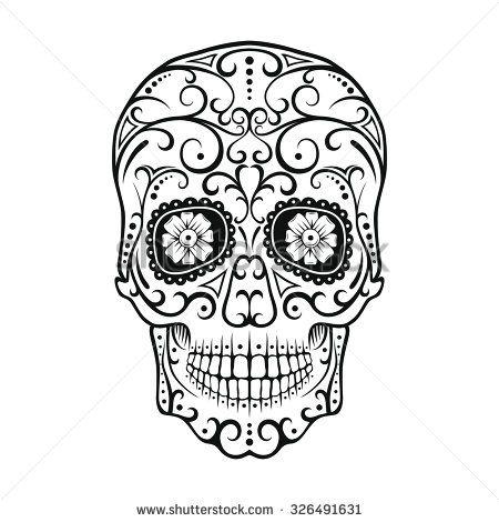 Pin On Candy Skulls