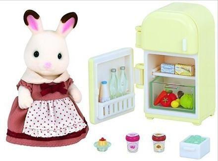 Sylvanian Families Sylvanian Families, Набор Мама кролик и холодильник