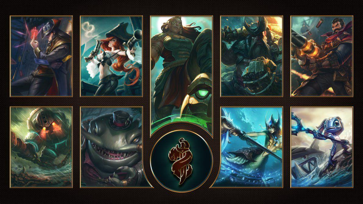 League Of Legends Bilgewater Wallpaper League Of Legends League Of Legends Characters League Of Legends Game