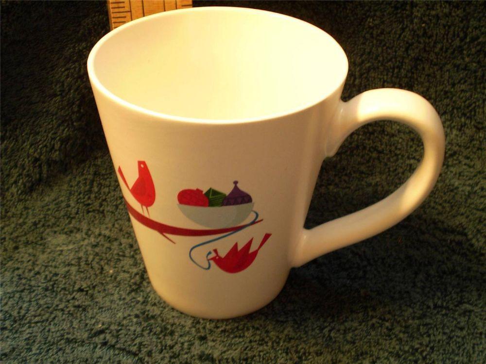 Partridge starbucks christmas coffee mug 2011 holiday red