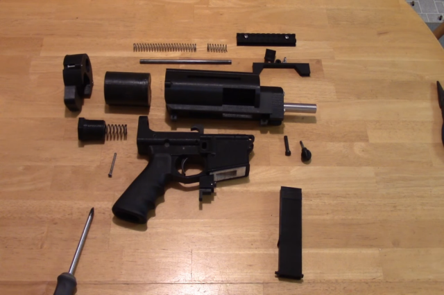 This 3D-printed gun is semiautomatic, untraceable, and totally legal