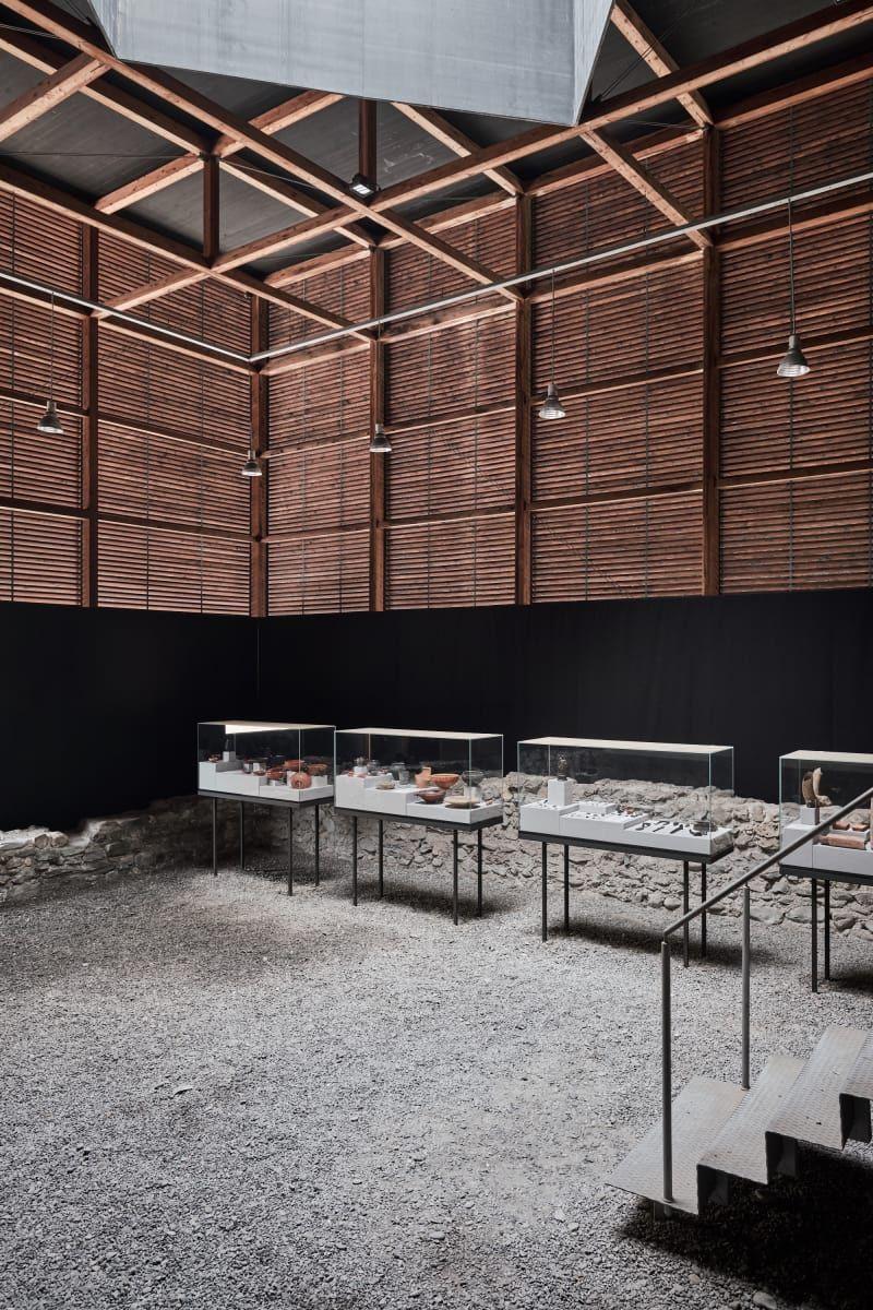 Peter Zumthor, August Fischer · Shelter for Roman Ruins
