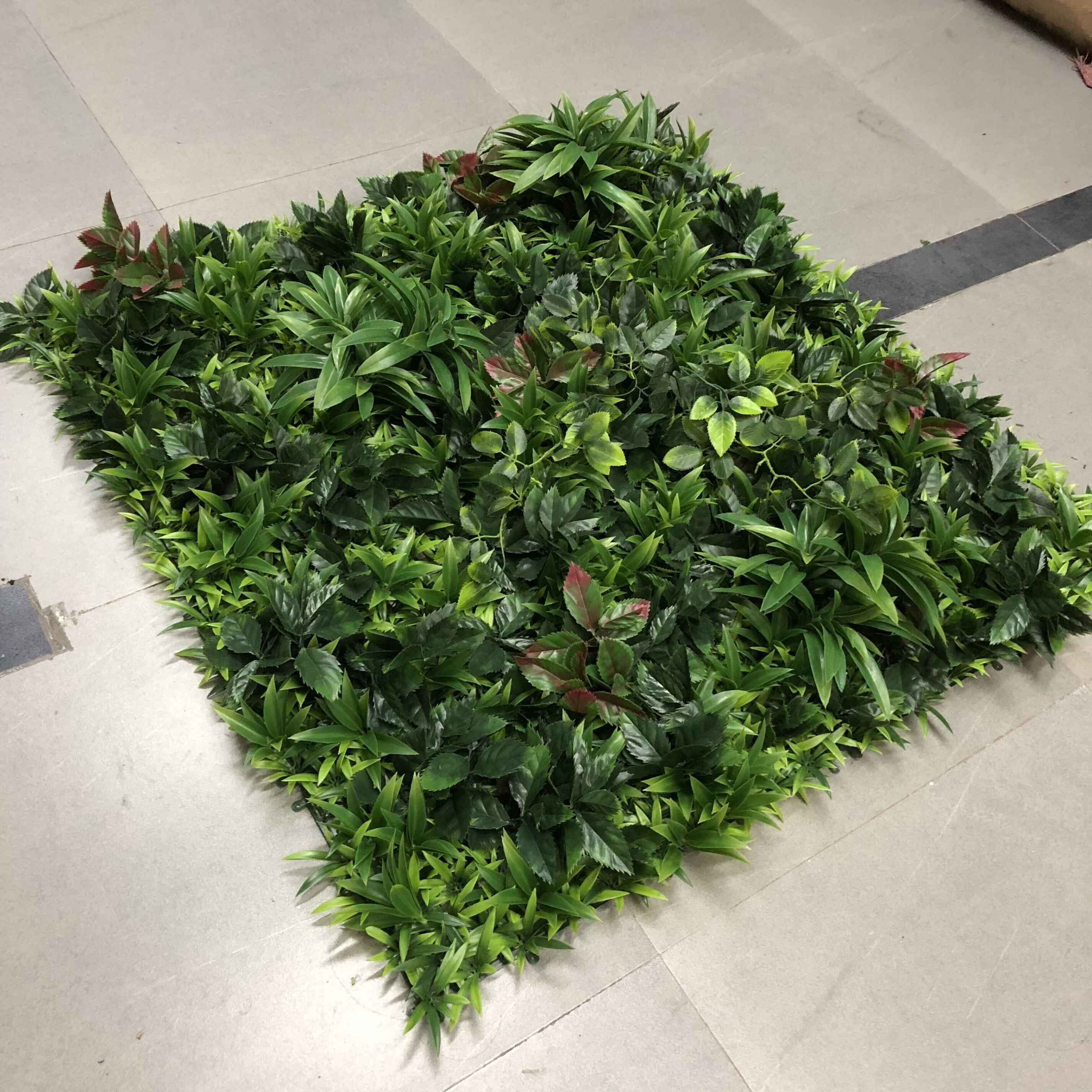 Newly Designed Artificial Green Wall Screening Wall Panels For Your Indoor  Or Outdoor Wall Covering Or