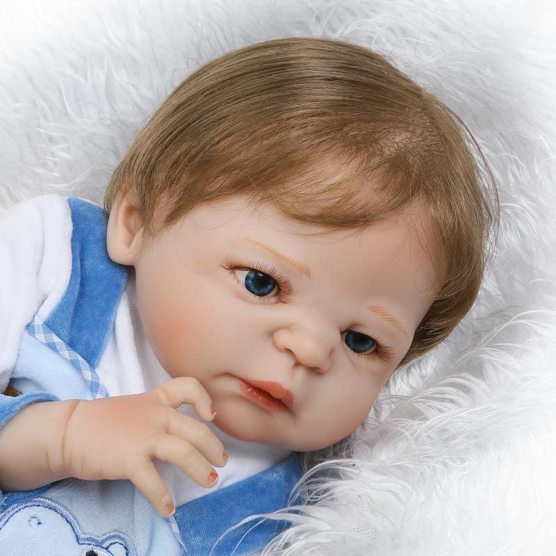 f412ed216 Boneca Reborn Leonardo Lançamento Silicone Pode dar Banho - Boneca e Bebe  Reborn BBs Reborn