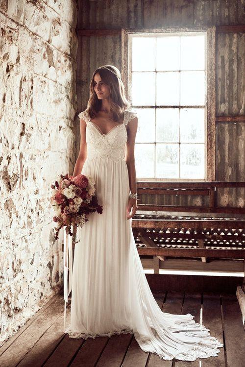 Anna Campbell Bridal Savannah Dress With Silk Tulle Skirt