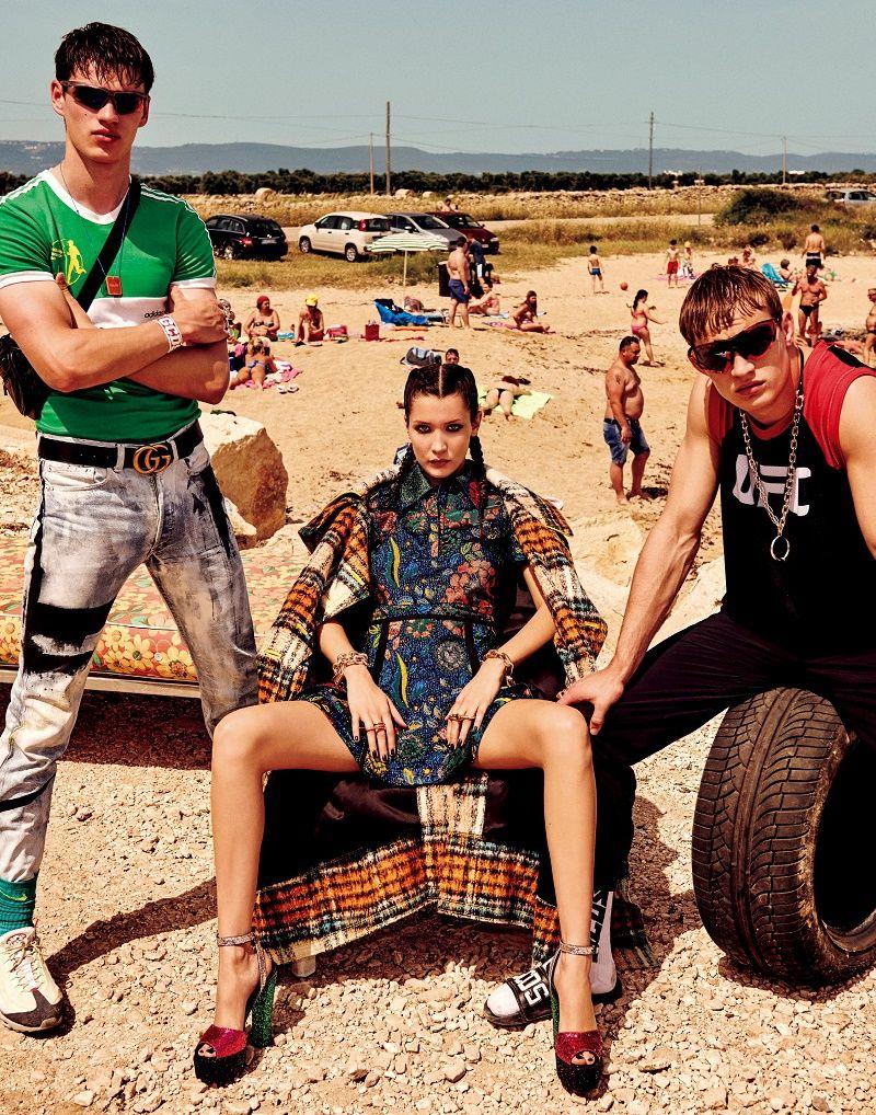 Cores Formas e Estampas Invadem a Vogue Japo Novembro com Fotografia de Giampaolo Sgura  Fragmentos de Moda