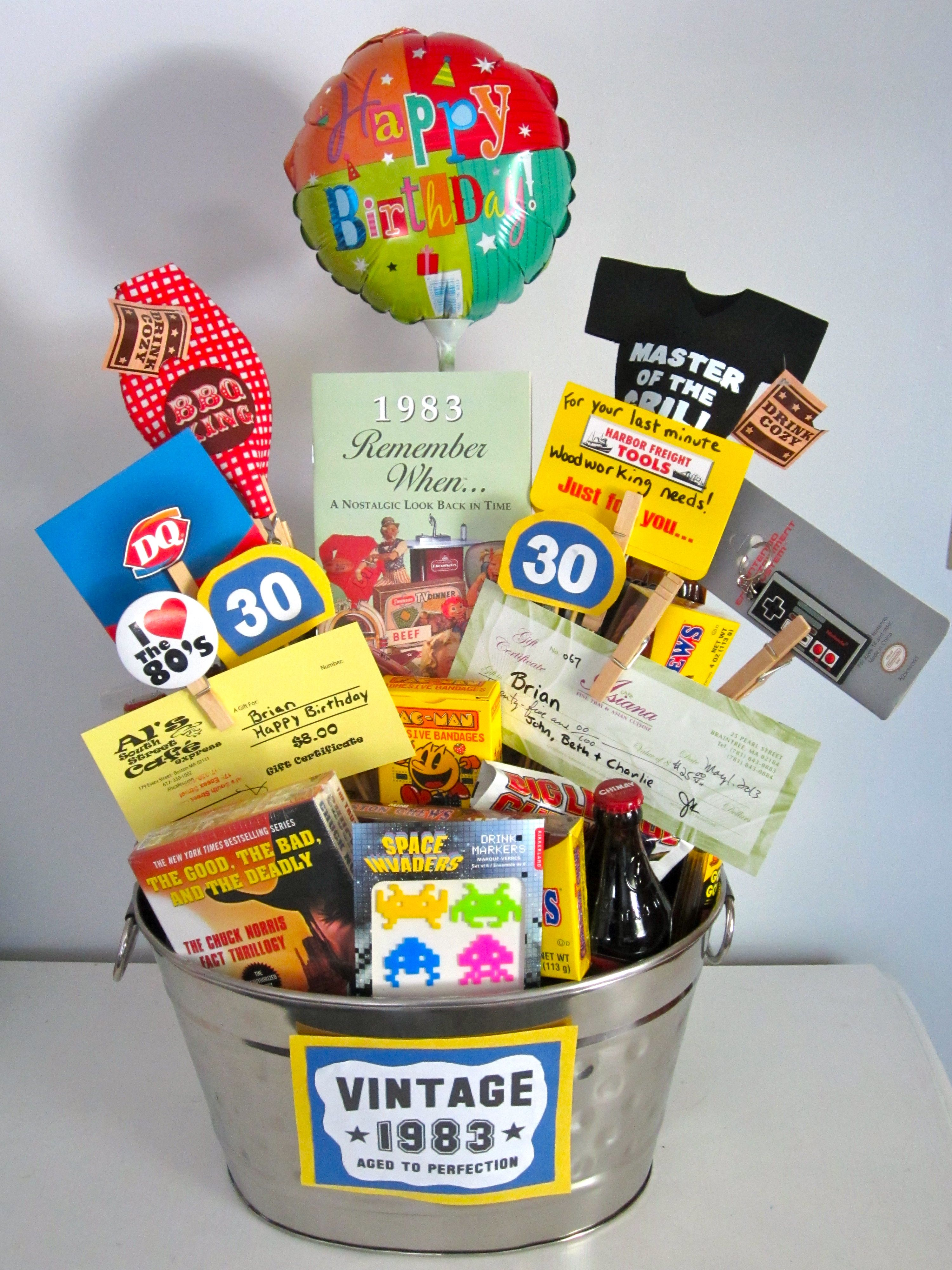 Birthday Occasions Gift Cards Birthday Gift Baskets 60th