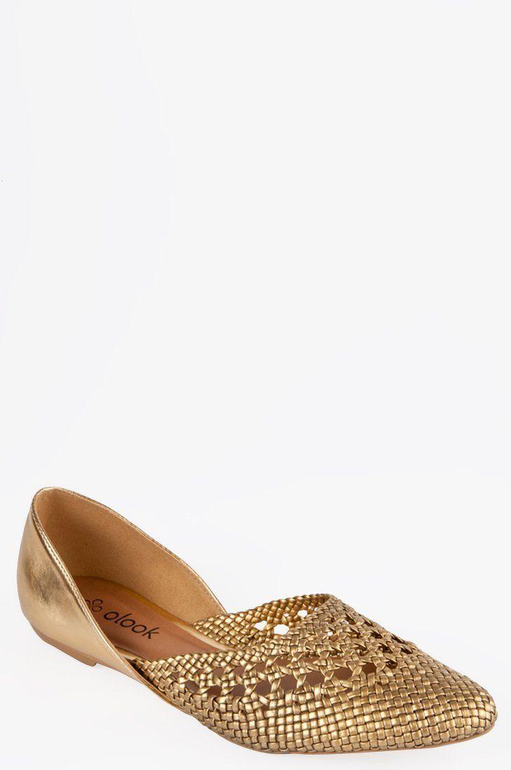 fd52f5f12b Sapatilha Tressê Mônaco Dourado - Roupas e Sapatos Femininos