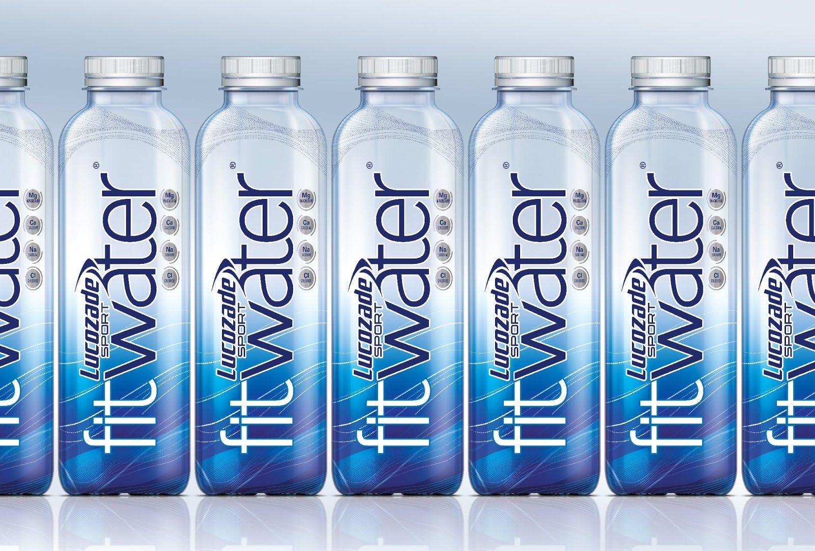 Fitwater Bottle Design Water Water Bottle Label Design Bottle