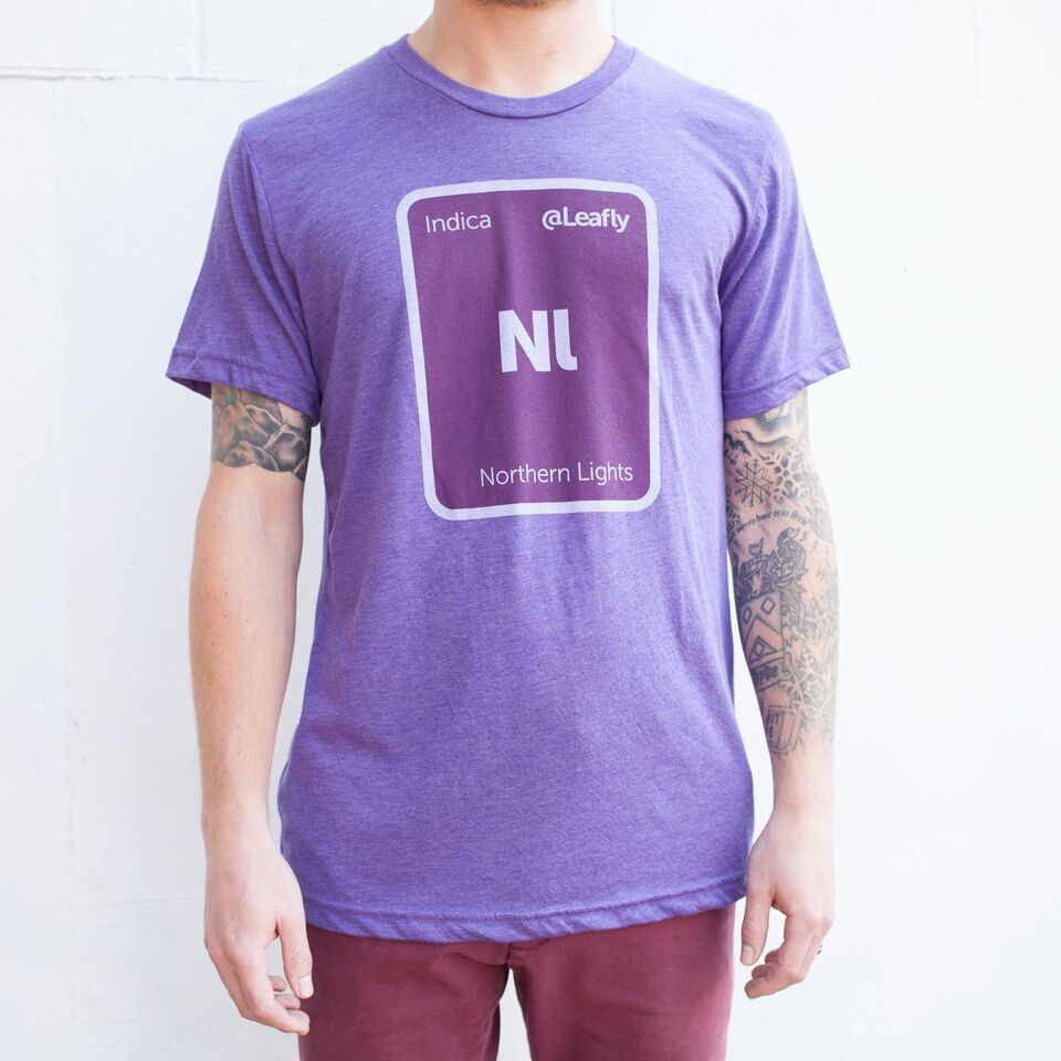 Northern Lights by Leafly Mens tops, Shirts, T shirt