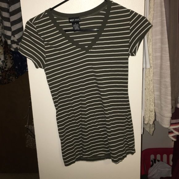 Stripped shirt Great condition, just grew out of it. Wet Seal Tops Tees - Short Sleeve
