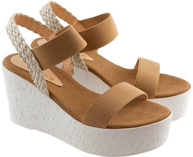 Μπεζ πλατφόρμα Xti 42262   IzyShoes Παπούτσια και αξεσουάρ