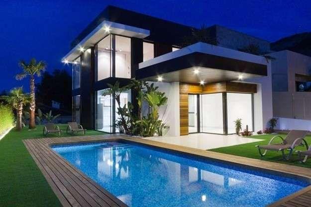 Casas de lujo de espa a fotos de mansiones casas de - Casas minimalistas en espana ...