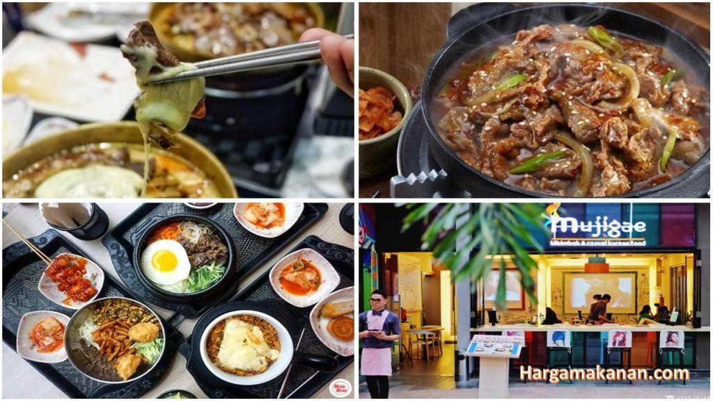 Harga Menu Mujigae Summarecon Bekasi Makanan, Kimchi