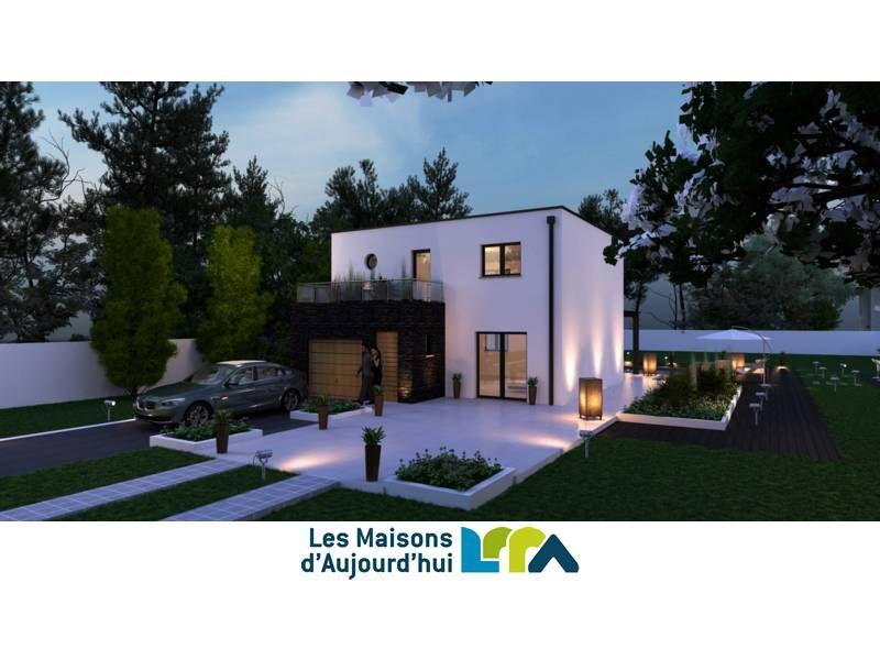 Plan gratuit de Maison contemporaine RT2012 \u2013 Les Maisons d\u0027Aujourd