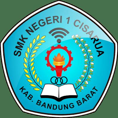 Logo SMKN 1 Cisarua Kab. Bandung Barat Lencana