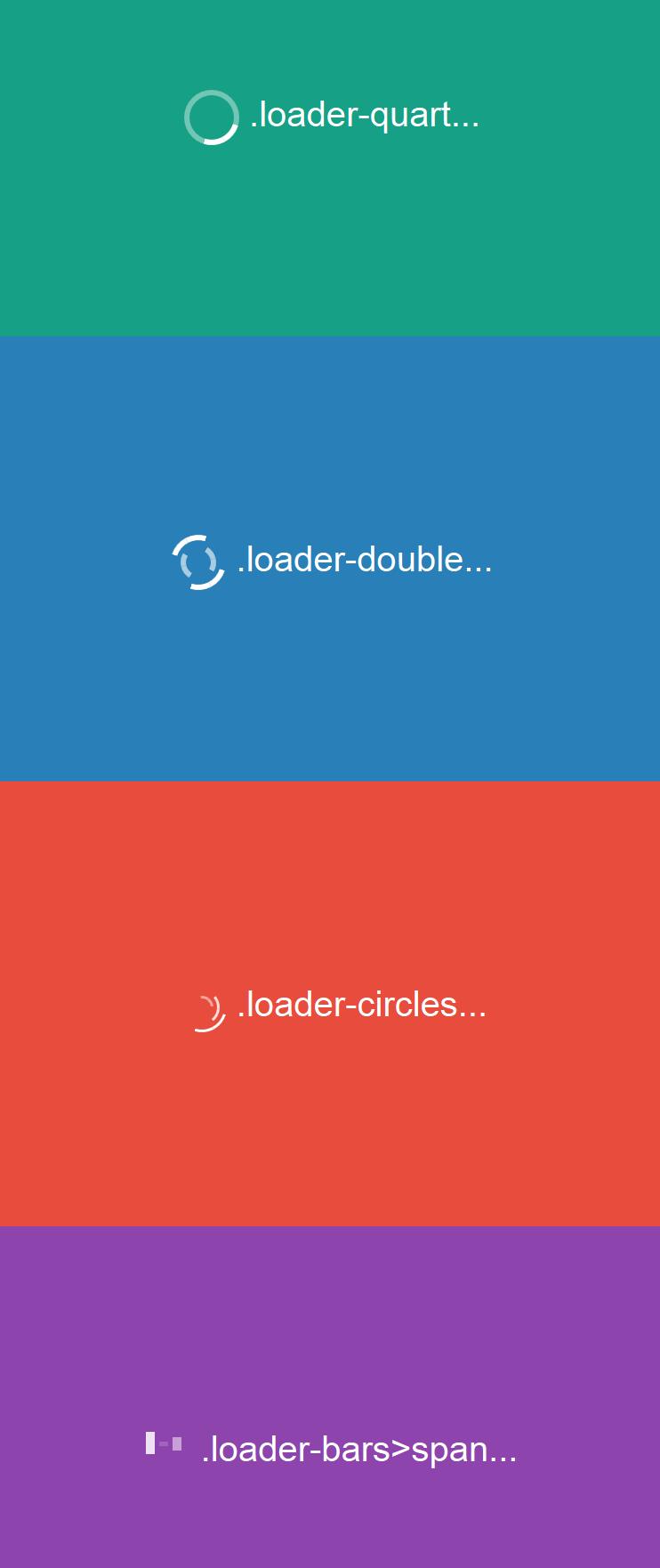 CSS3 Animated Loader http://www.ballychohan.com