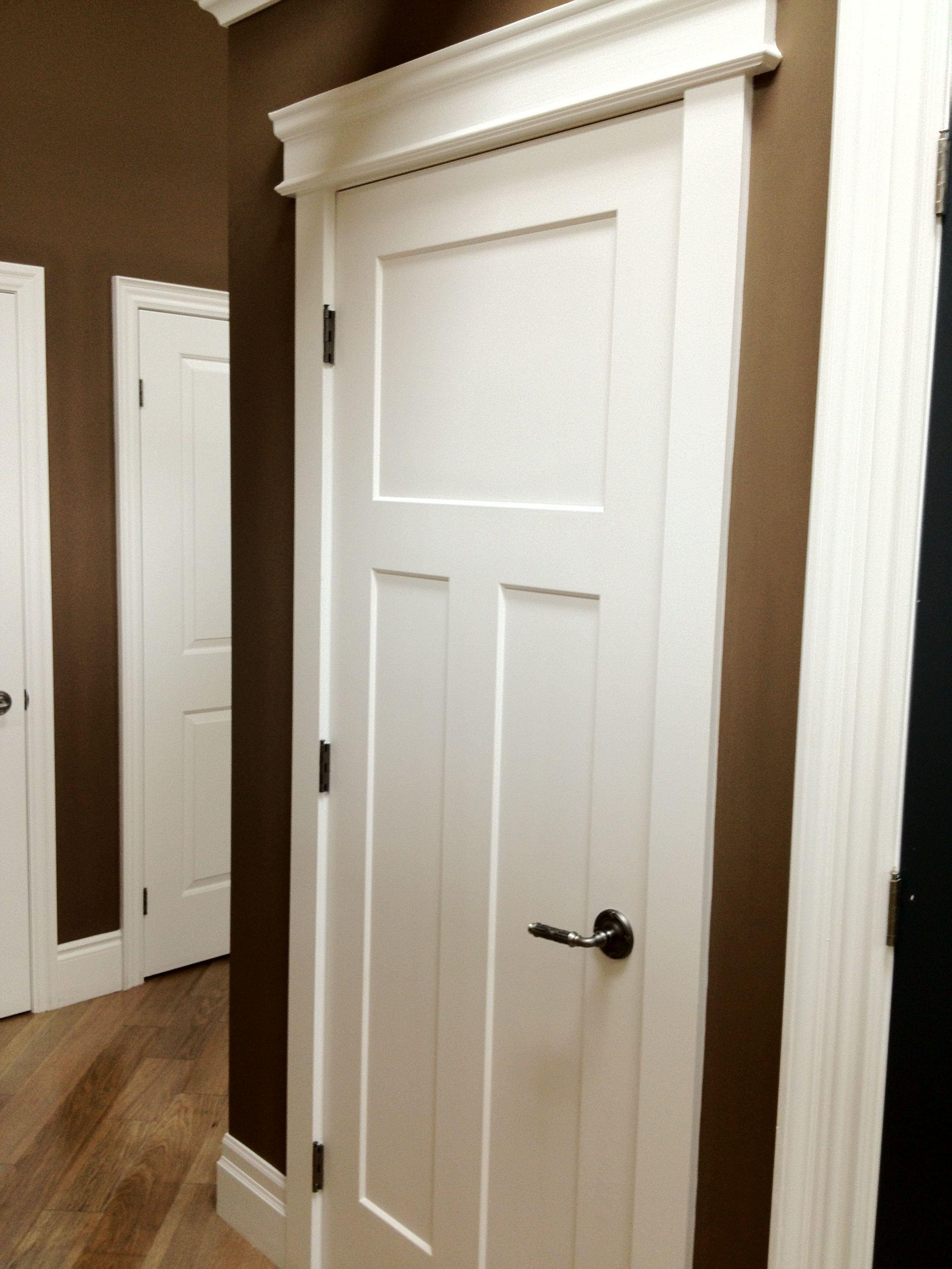 Craftsman Door And Molding Trim Interior Barn Doors