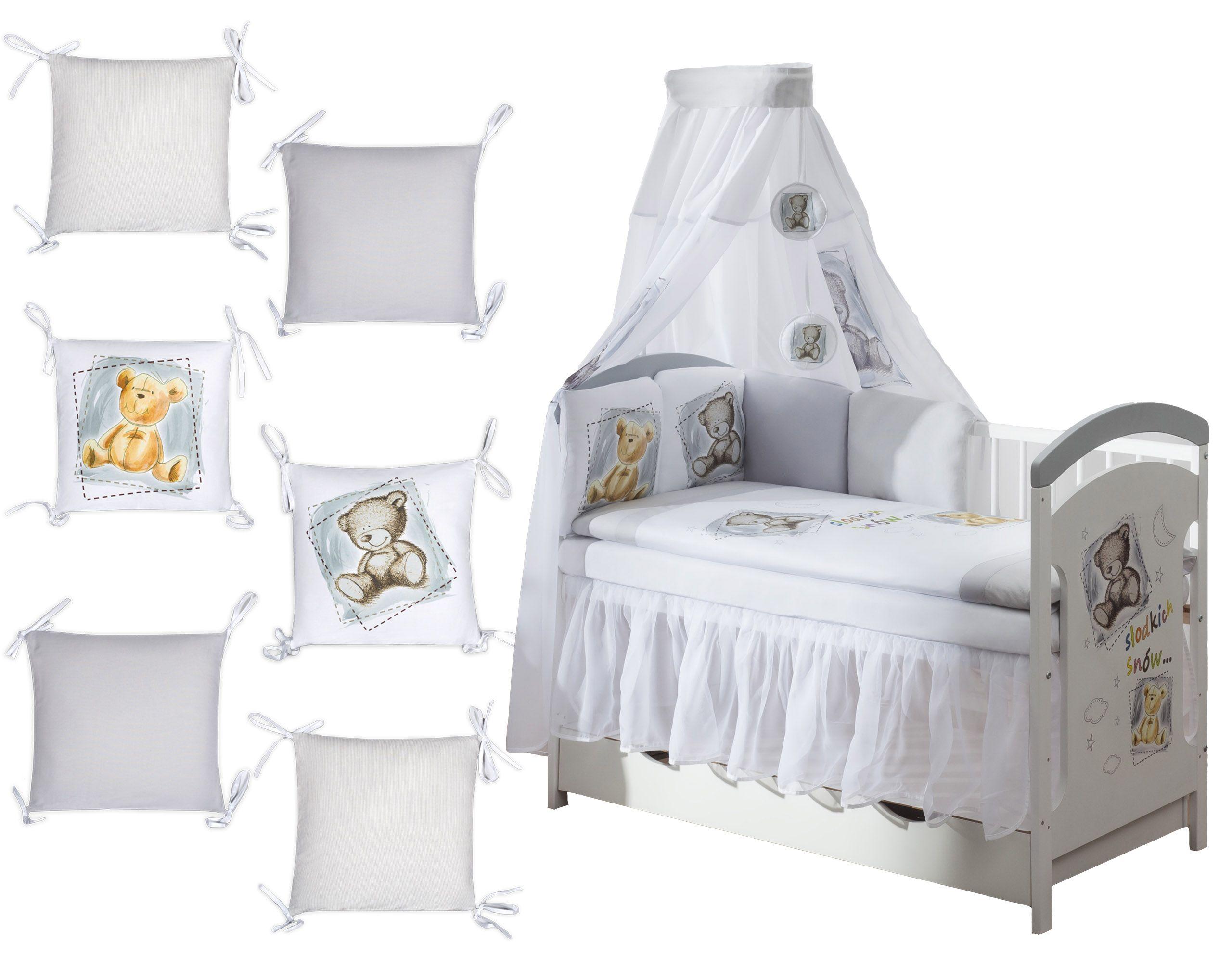 Ochraniacz Poduszkowy Modulowy 12 Cz Do Lozeczka 7494742023 Oficjalne Archiwum Allegro Toddler Bed Home Decor Bed