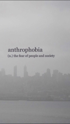 Anthrophobic