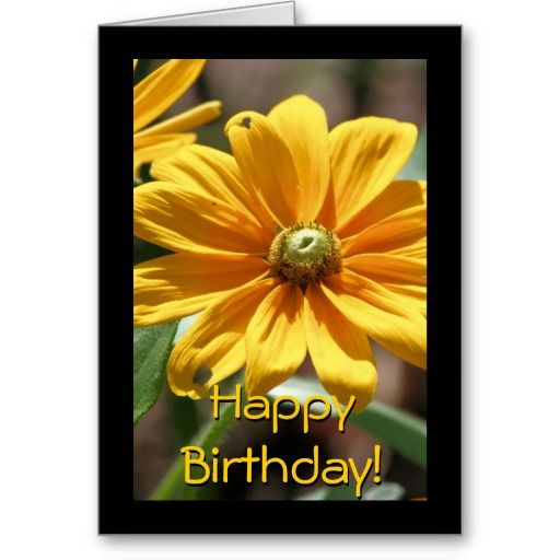 Golden Birthday Card Happy Birthday Greeting Cards Pinterest