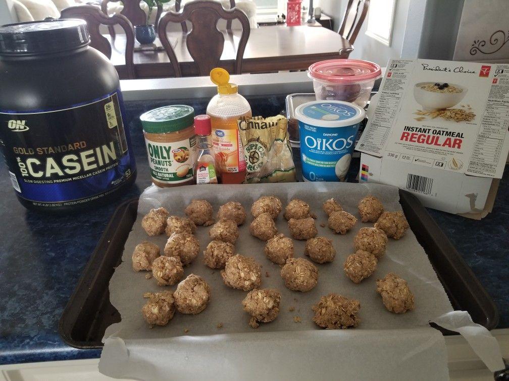 Homemade protein ballsclean eating in 2020 filling