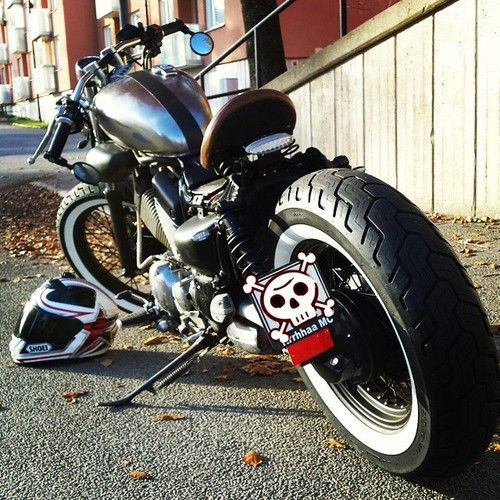Virago 535 | Bobber Inspiration - Bobbers and Custom Motorcycles November 2014