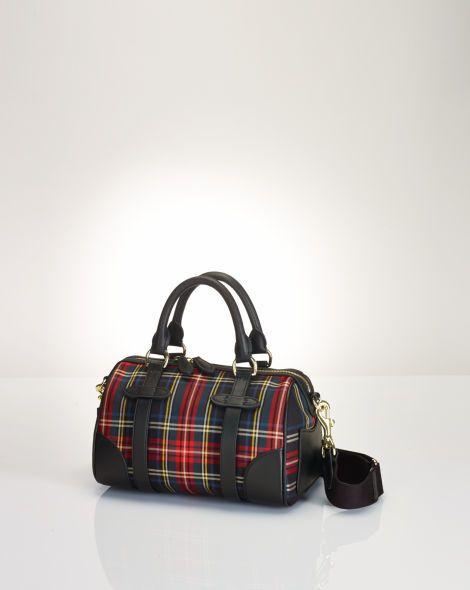 4b6188065f Small Tartan Duffel Bag - Polo Ralph Lauren Polo Ralph Lauren - RalphLauren .com