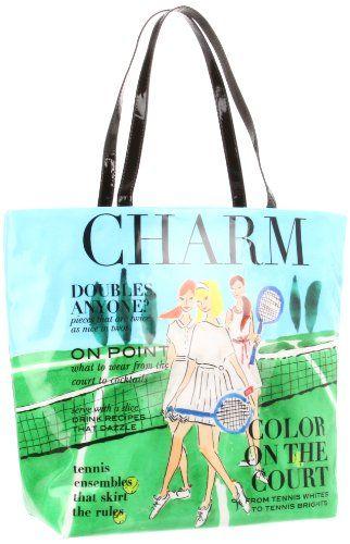 Kate Spade New York Daycation Bon Per Charm Tennis Tote