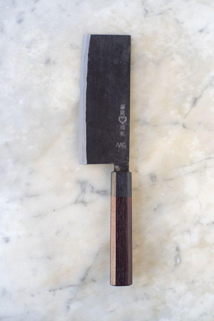 Takeda Hamono Nakiri Knife Kitchn For The Chickn