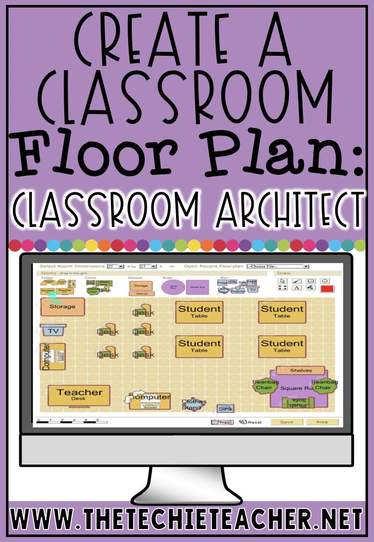 Create A Classroom Floor Plan With Classroom Architect Classroom Floor Plan Classroom Architect Classroom Setup Elementary