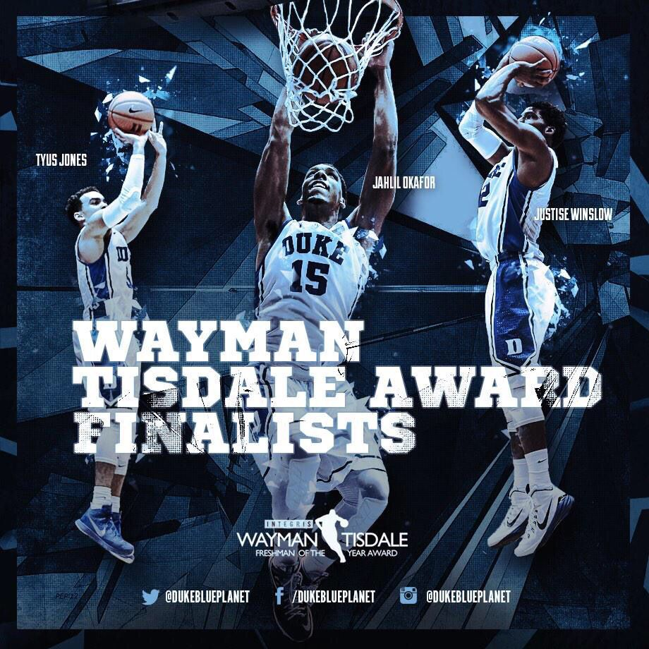 Tisdale Award Finalists