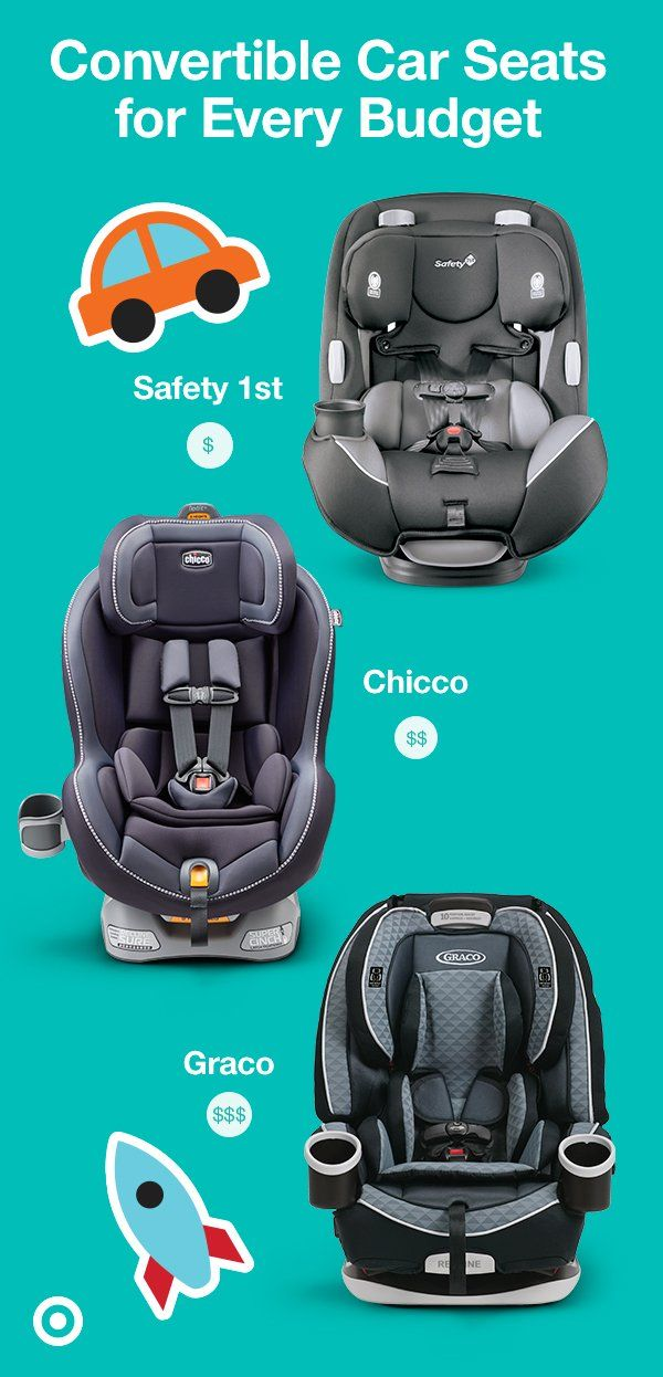 Convertible car seats come in a range of prices and easily ...