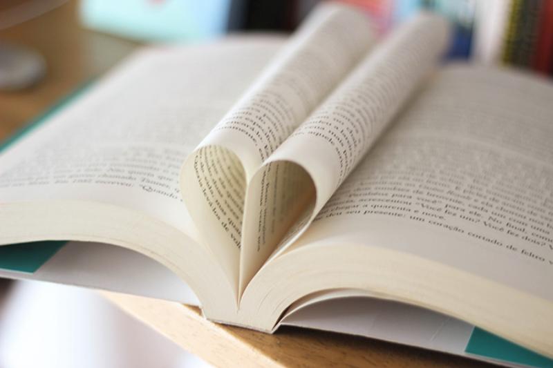 livro, coração
