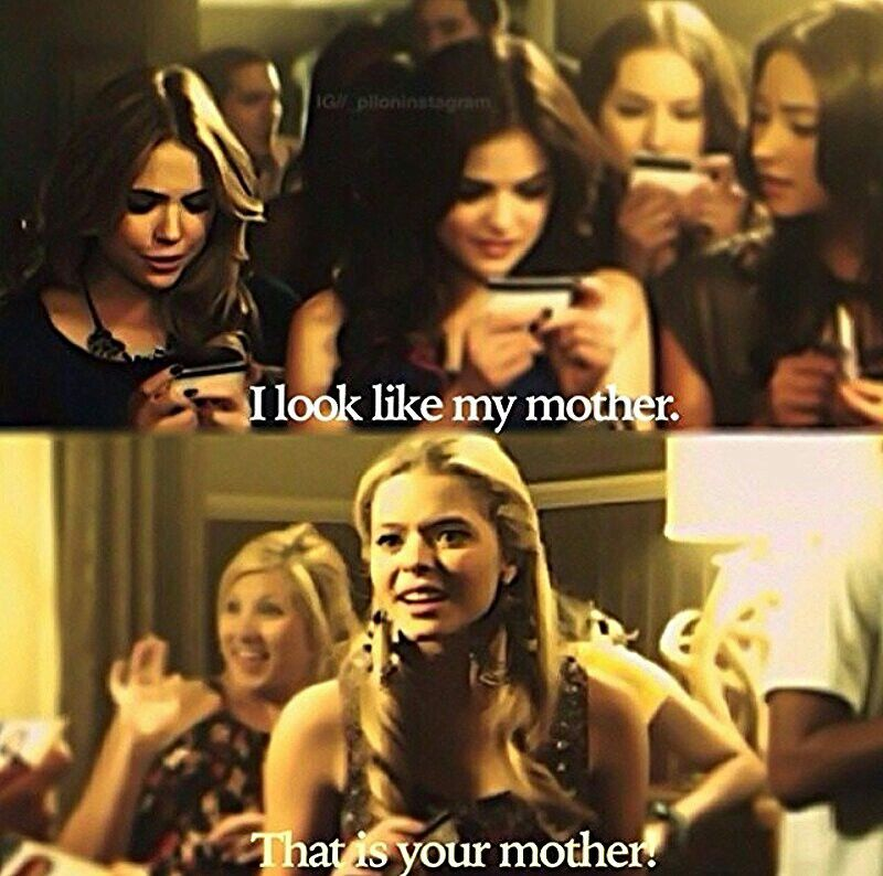Funny Pretty Little Liars Quotes Alison Dilaurentis Fake Ids Pretty Little Liers Pretty Litle Liars Pretty Little Lairs