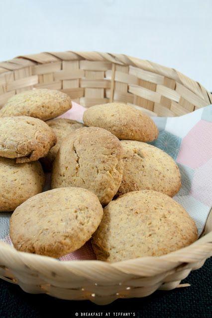 Breakfast at Tiffany's: Biscotti integrali al miele senza burro